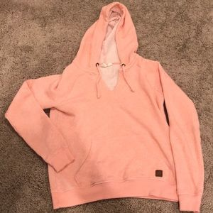 Coral Roxy Top Sweater